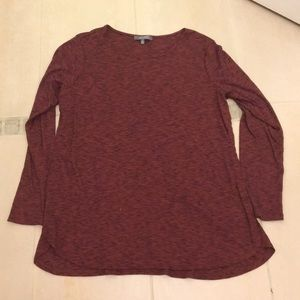 Lisa Rinna Collection xl long sleeve tunic top